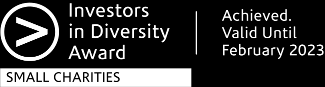 Investors in Diversity Award logo B & W