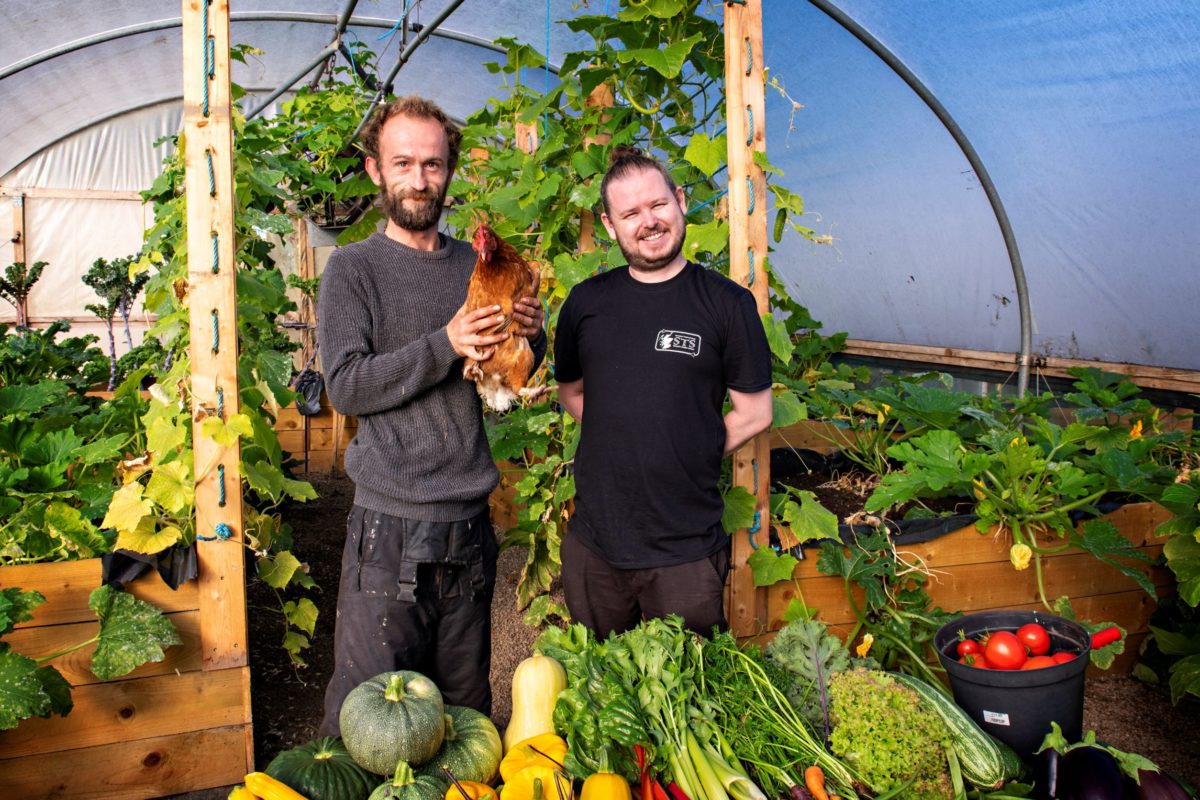 Stephen McQueen and Sean Kerr, founders, Sustainable Thinking Scotland