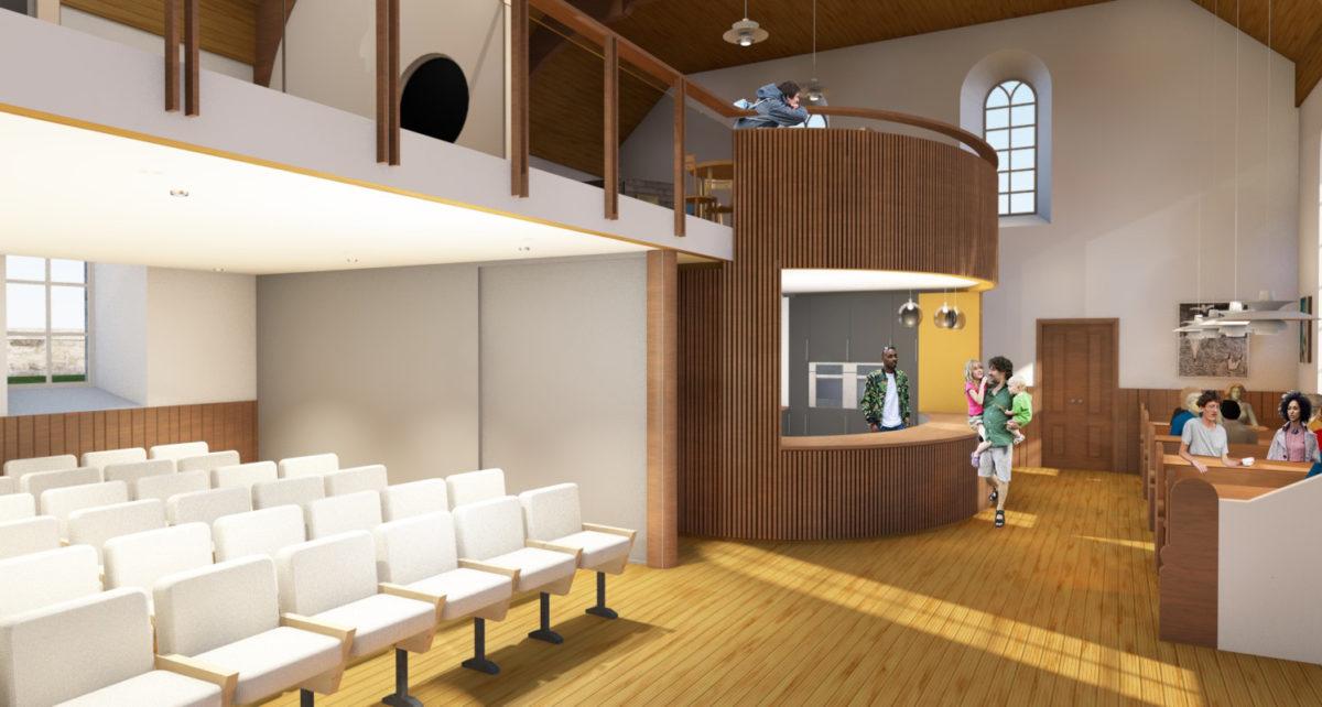 Design concept for Bigton Kirk